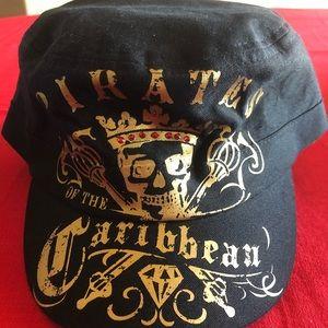 Disney Park exclusive pirates of Caribbean cap hat